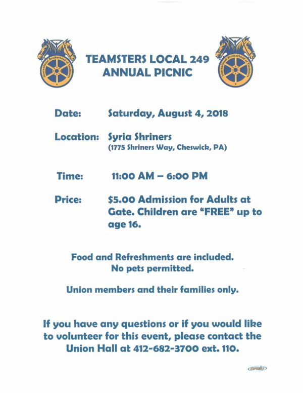 Teamsters Local 249